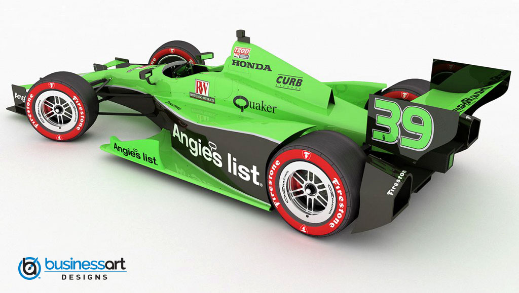 Angie's List livery