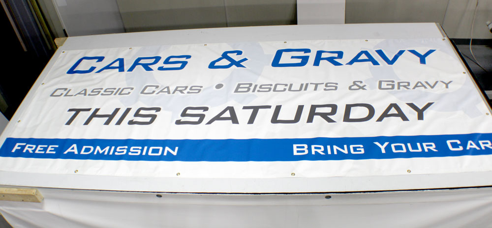 Cars and Gravy Banner