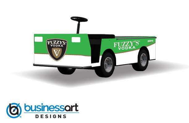 Fuzzy's Vodka Green Pit Cart
