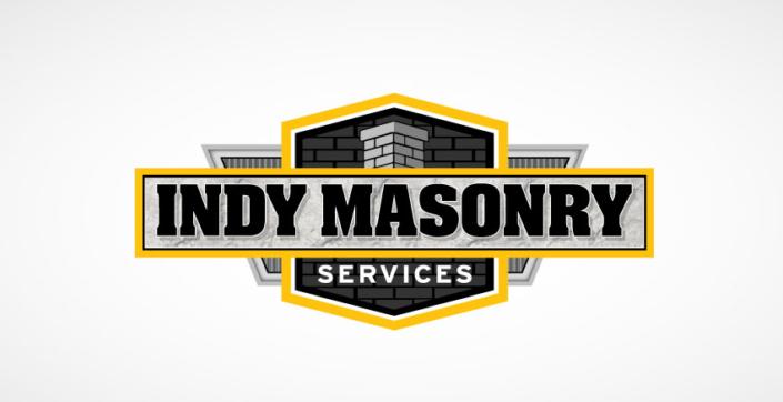 Indy Masonry Service Logo Colored