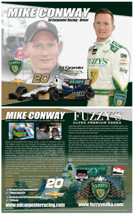 Mike Conway Hero Card