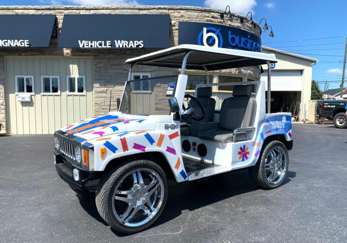 golf cart wraps