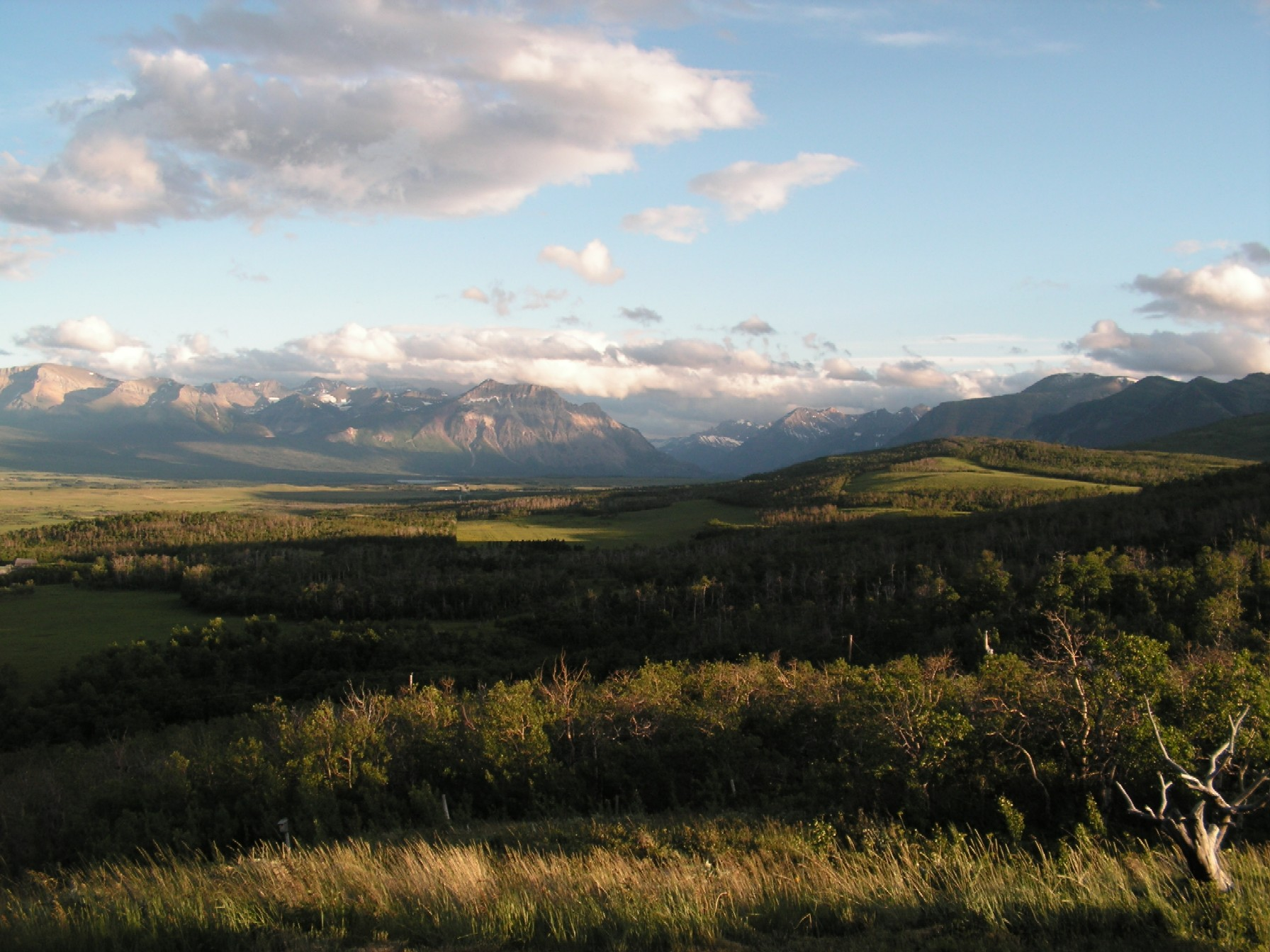 Landscape photograph of Waterton Park in Alberta, Canada.