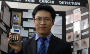 Andrew Pun the winner of the Weston Youth Innovation Awards 2021