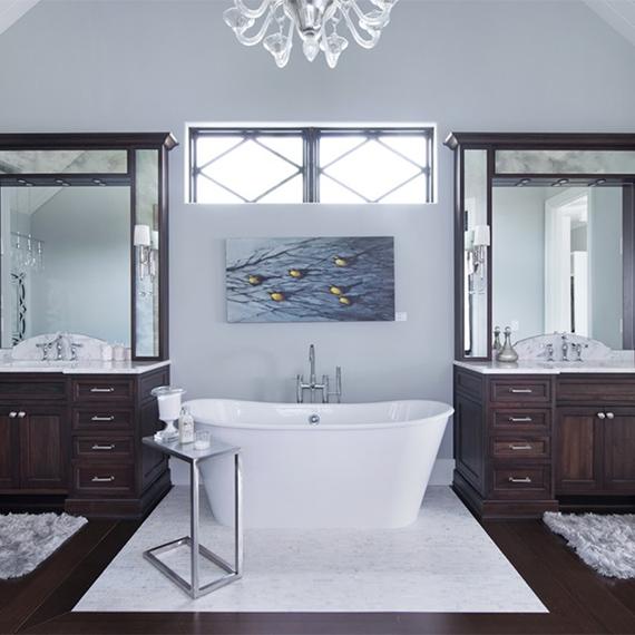 Kitchen Studio - Classically Glamorous Bathroom