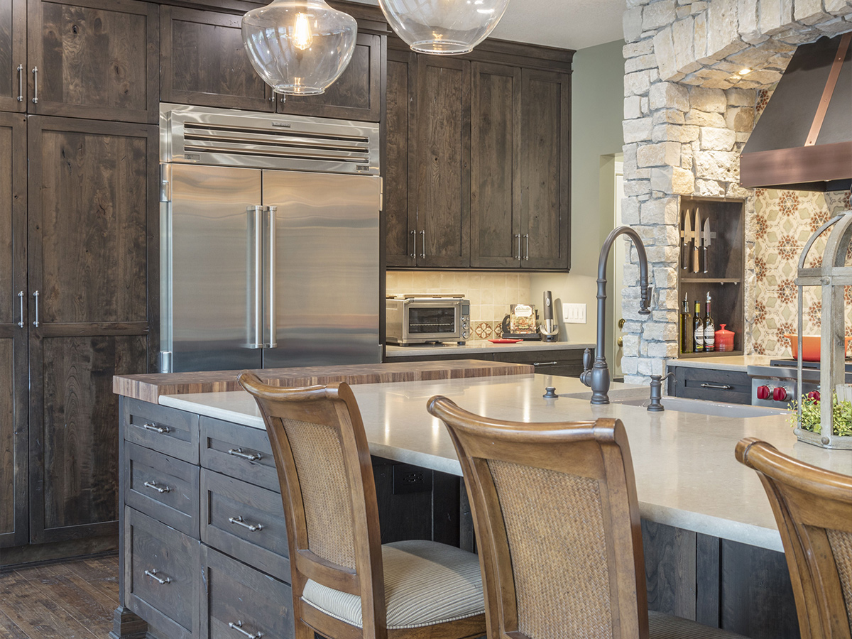 Kitchen Design Process - After - Rustic Lake Living