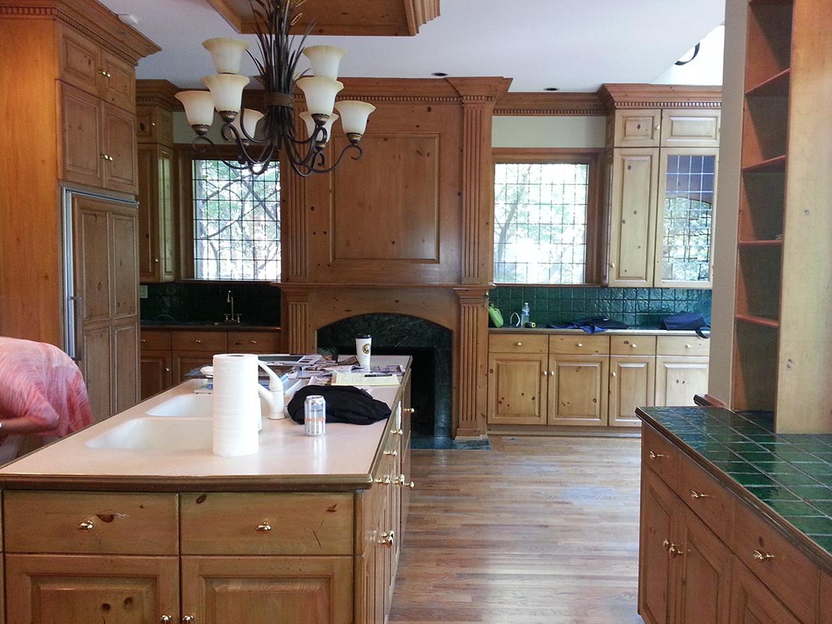 Kitchen Design Process - Before