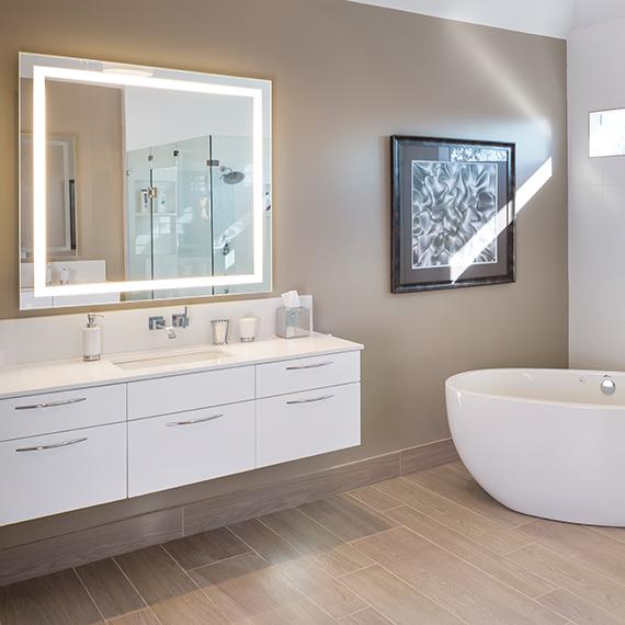 Kitchen Studio:KC - Contemporary North KC Bathroom