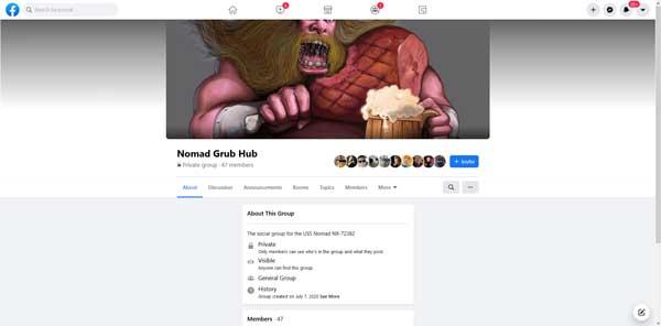 NOMAD GRUB HUB FACEBOOK GROUP