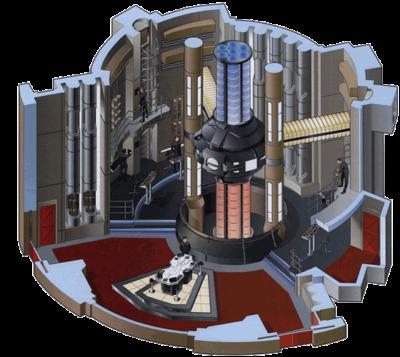 Star Trek USS Nomad Engineering Ship History