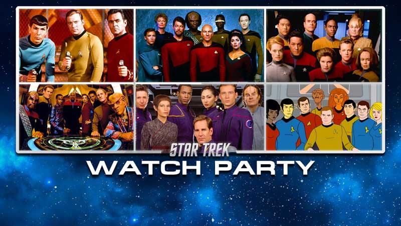 Star Trek Watch Party