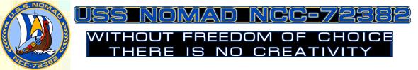 USS NOMAD NCC-72382 Logo