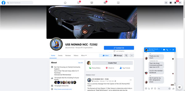 USS NOMAD FACEBOOK