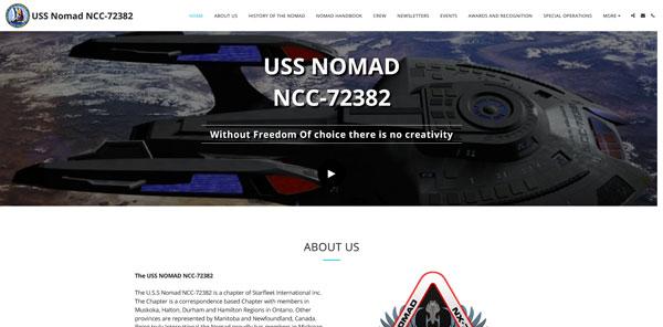 USS NOMAD OLD WEBSITE