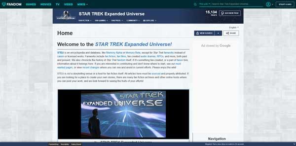 Star Trek Expanded Universe Wiki Fandom