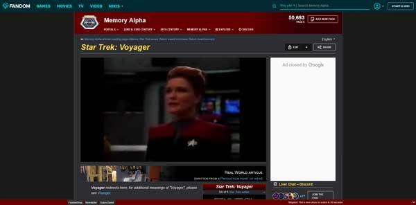 Star Trek: Voyager Memory Alpha Wiki Fandom