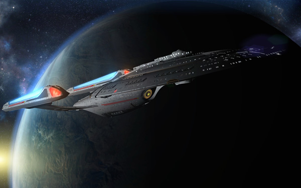 USS NOMAD SOVEREIGN CLASS SHIP TOUR