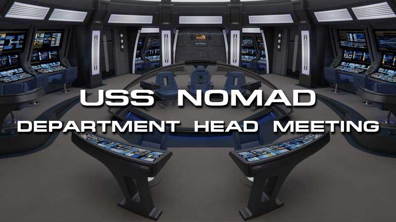 USS Nomad Department Head Meeting