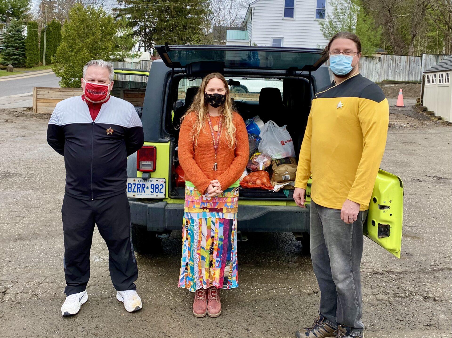 April 2021 Food Drive Huntsville Ontario