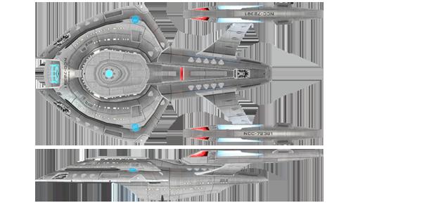USS Nomad Nova Class NCC 72382
