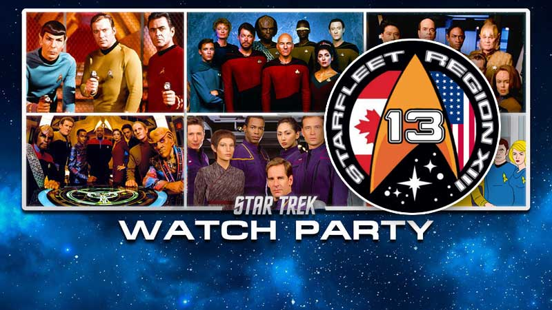 Region 13 Star Trek Watch Party