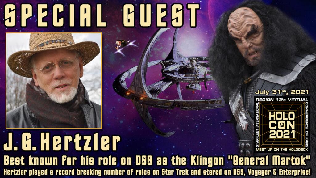 J.G. Hertzler Martok special guest