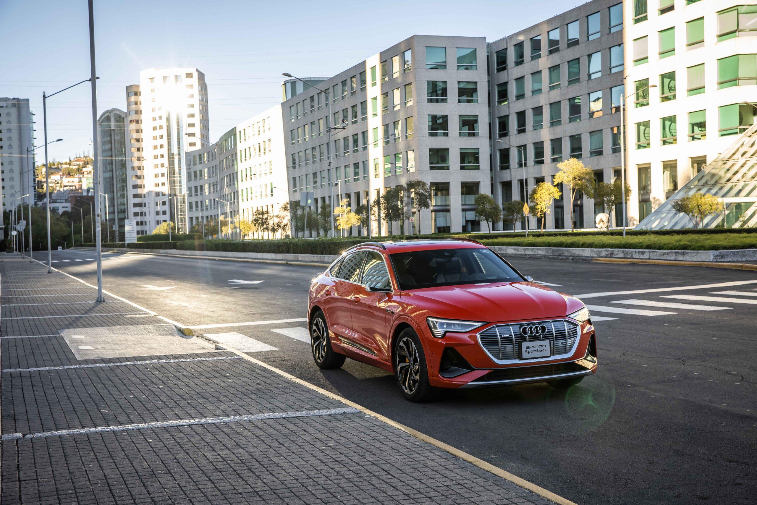 Audi e-tron Sportback: sensual electricidad