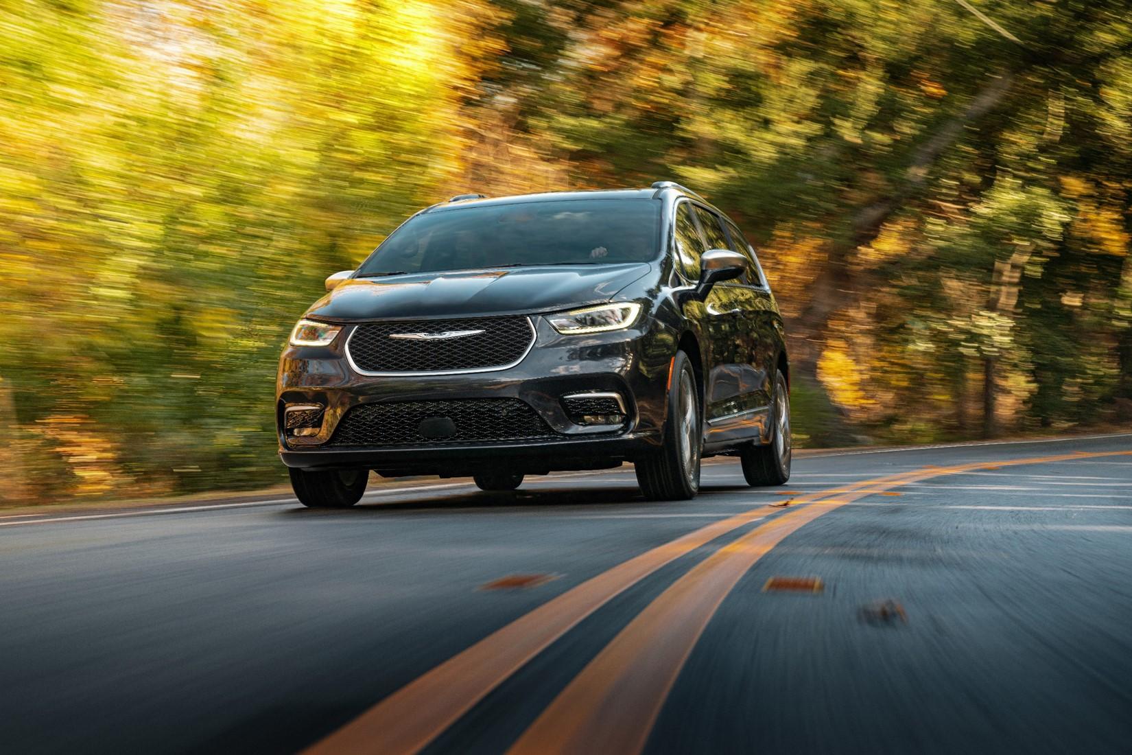 Chrysler Pacifica 2021: lujosa e ideal para viajar