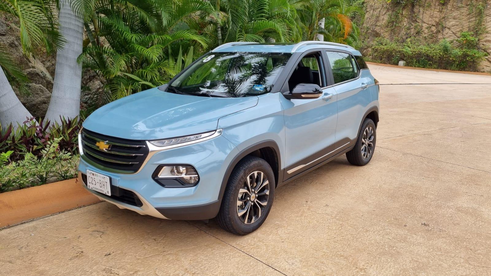 Groove 2022 la nueva SUV de Chevrolet en México