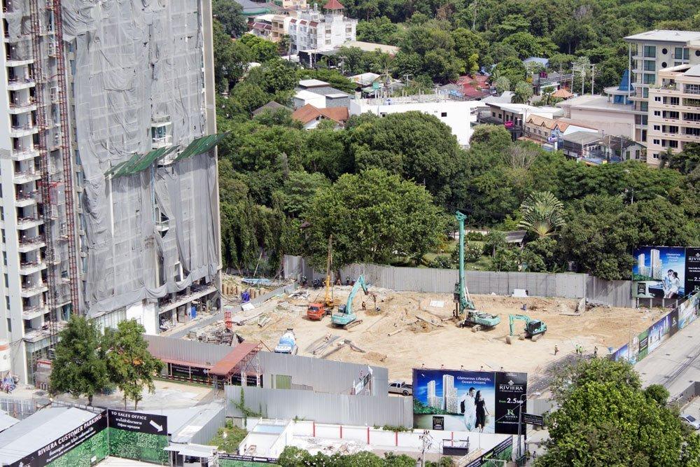 Riviera Wongamat  Construction August 2016 (2)