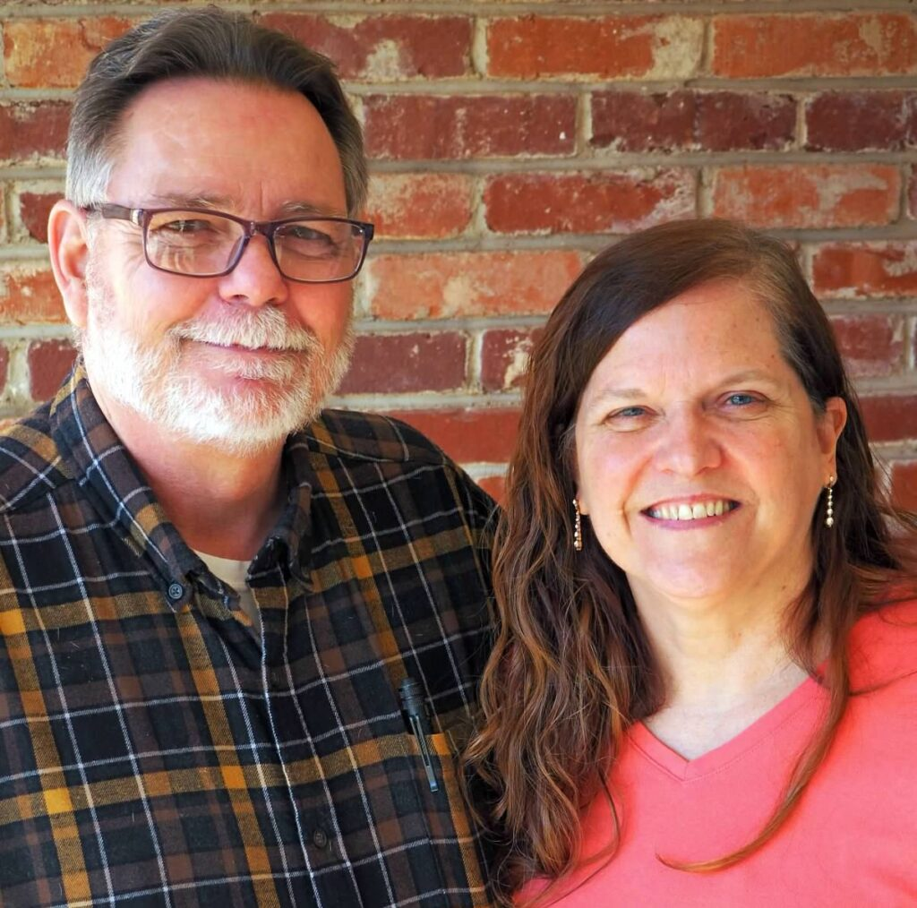 okc home inspectors Edward and Leeanne McEntire.