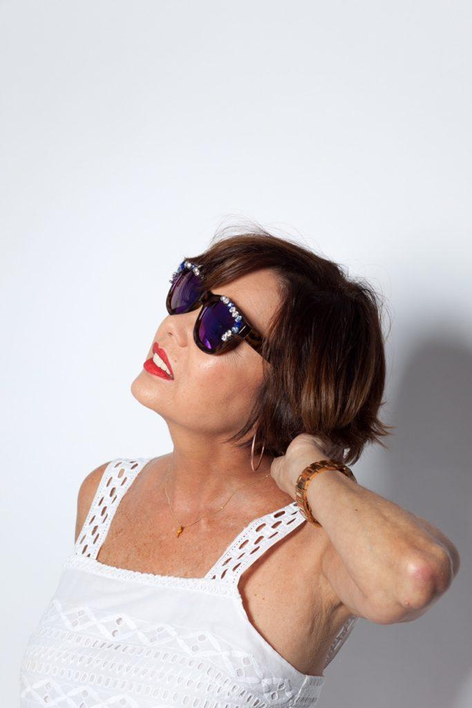 Embellished-sunglasses