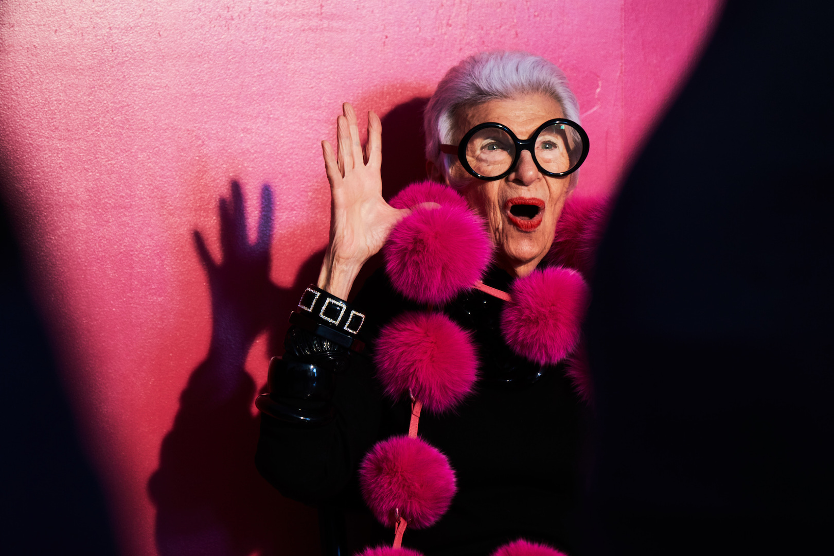 Love Iris Apfel? Read about her latest collab with INC