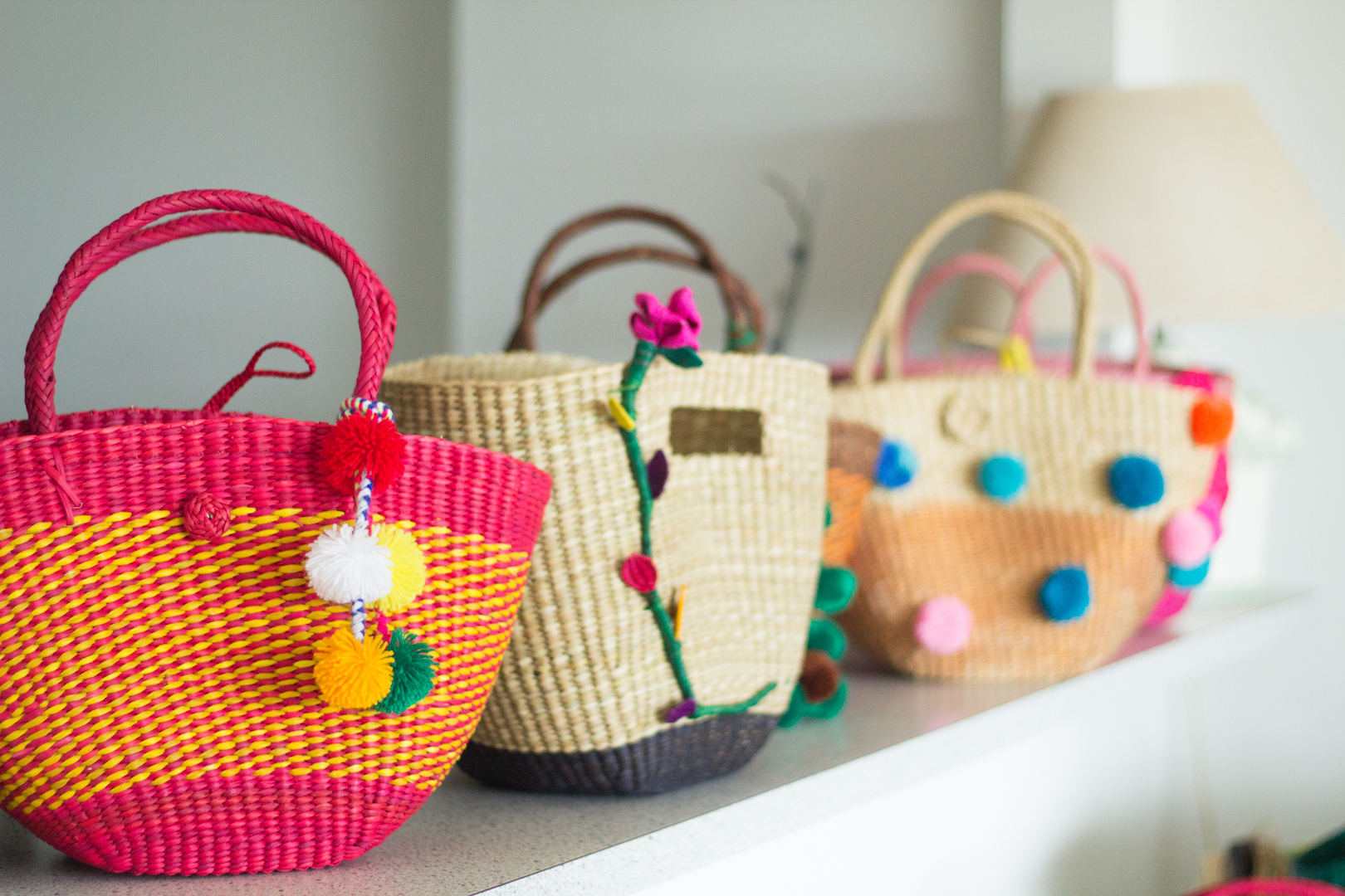 The Made in Peru straw bags every girl wants!