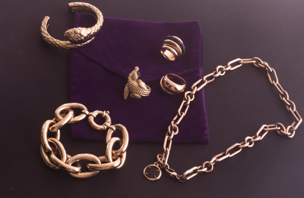 Some of my own Aristocrazy jewelry