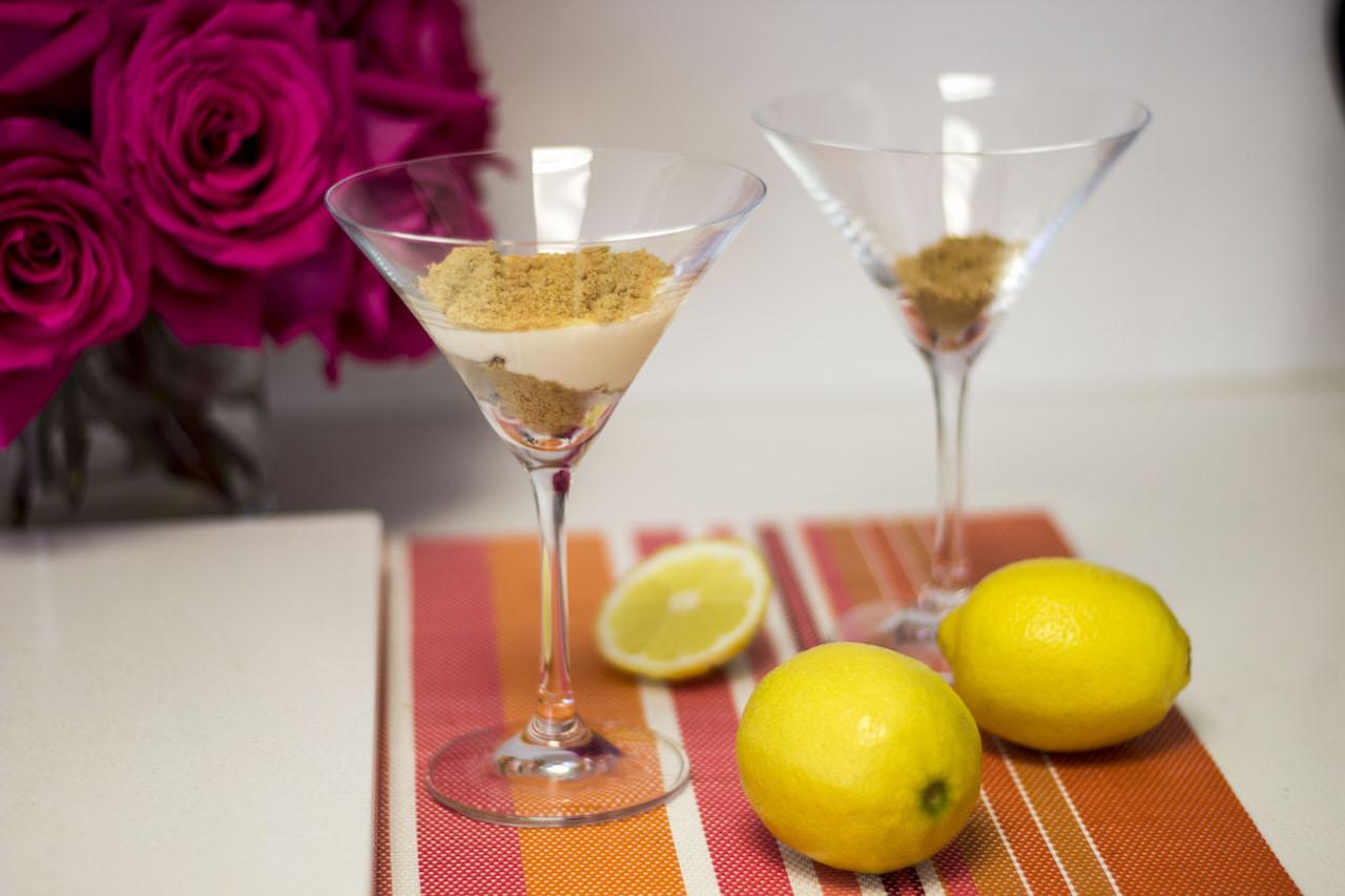 Prueba esta receta de pie de limón deconstruido