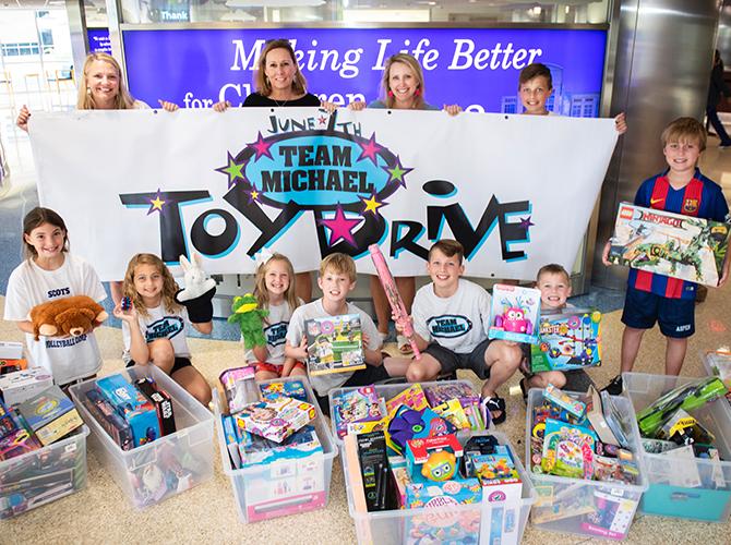 Team Michael Toy Drive 2018