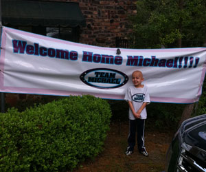 Welcome Home Michael