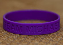Team Michael Wristband