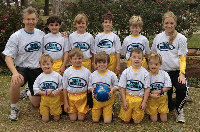 Soccer Team Michael