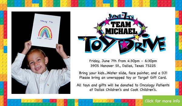 Team Michael Toy Drive 2019