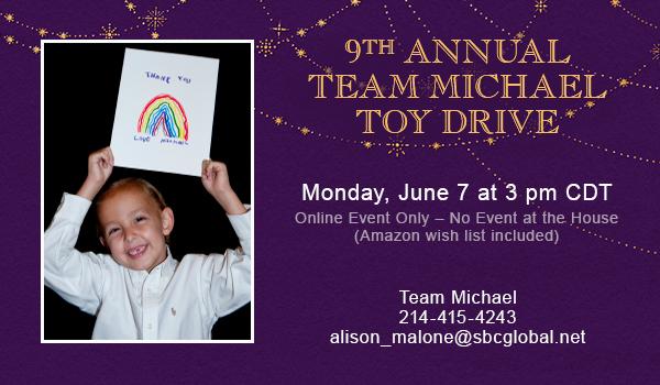 9th Annual Team Michael Toy Drive
