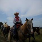 Nancy K other TX riders in Bowie Co w Best of America by Horseback TV Show June 2013