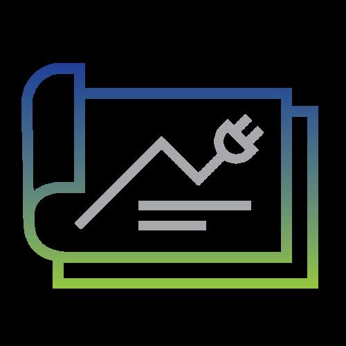 Energy Budget and Forecasting visual icon image