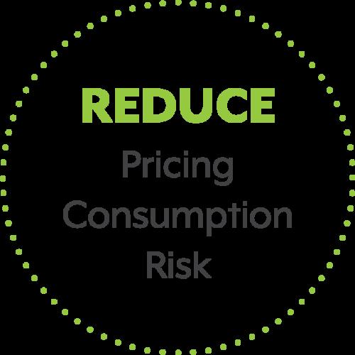 Reduce: Pricing, Consumption, Risk
