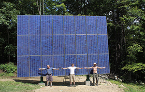 first-PV-system