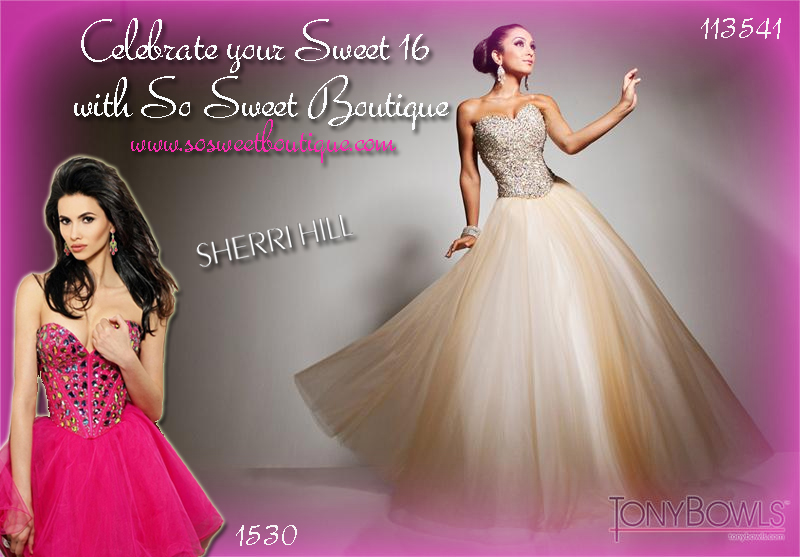 Designer Sweet 16 Dresses