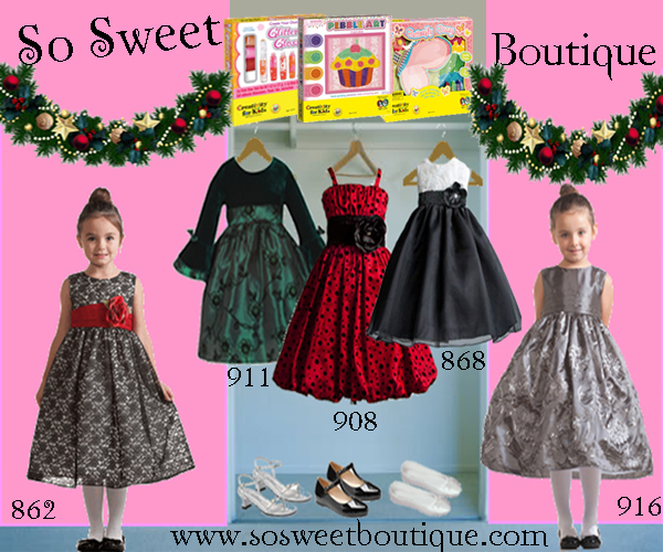 Instyle Girls Christmas Dresses