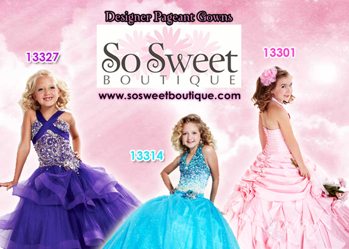 Designer Pageant Gowns