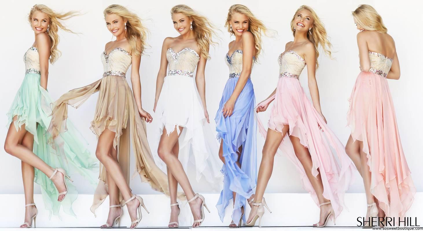 pastel prom dresses